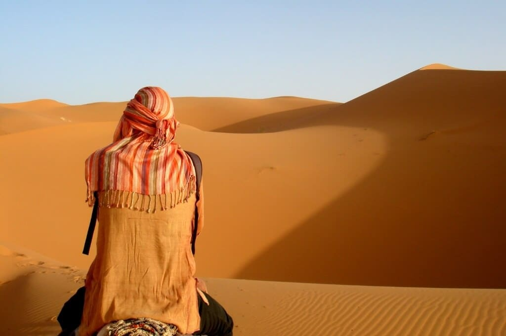 Por que não consigo sair do deserto